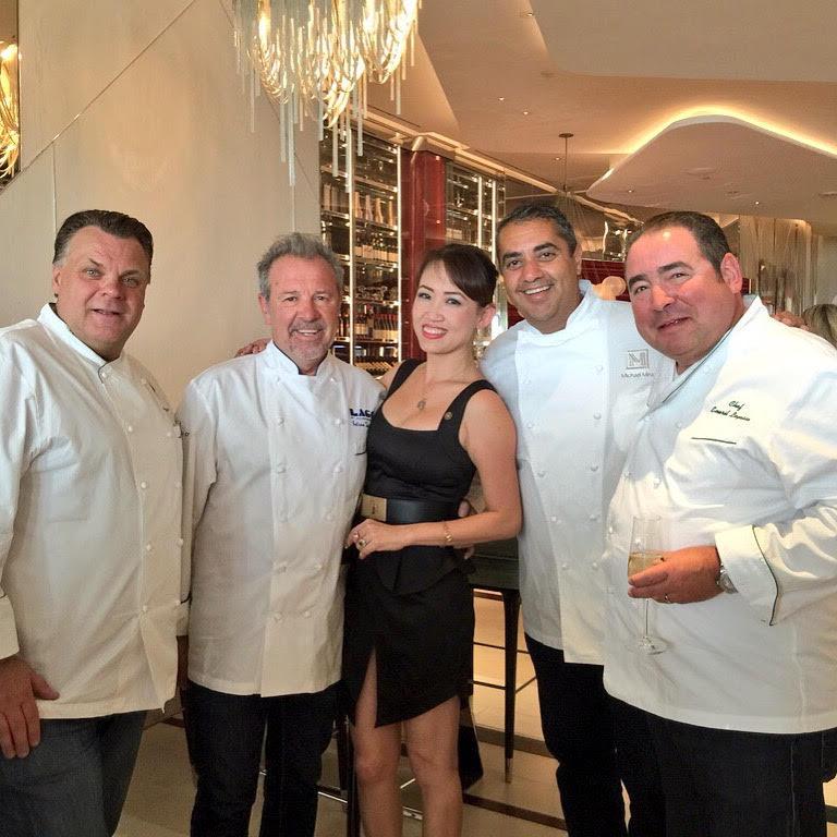 Lago Italian Restaurant Chef Julian Serrano At The Bellagio Hotel