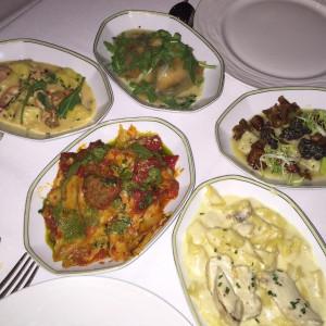 portofino pasta tasting