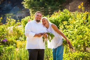 chef and gardener