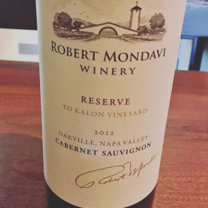 robert mondavi to kalom