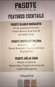 pasote tequila cocktails